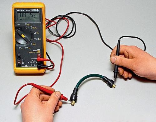 Проверка высоковольтных проводов зажигания