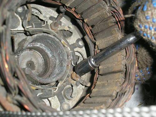 Ремонт генератора ВАЗ 2101: разборка, чистка, замена деталей