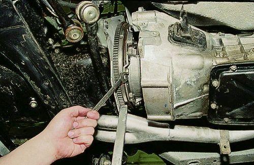 Замена сцепления ВАЗ 2106