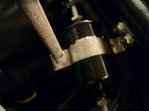 Самостоятельная замена топливного фильтра ВАЗ 2107