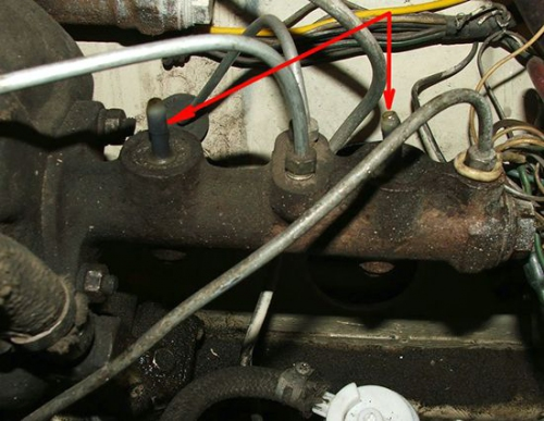 Снятие ГТЦ на ВАЗ 2108. Ремонт главного тормозного цилиндра своими руками