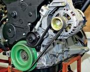 Самостоятельная замена ремня генератора ВАЗ 2110
