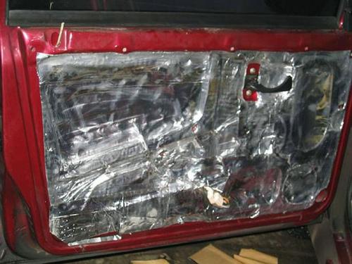 Самостоятельная установка шумоизоляции ВАЗ 2114