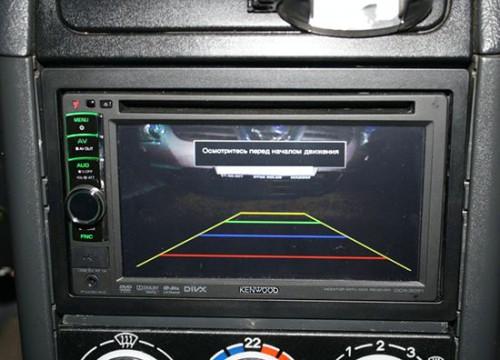 Как установить камеру заднего вида на ВАЗ 2112 своими руками