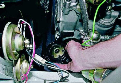 Замена масла и масляного фильтра в двигателях ВАЗ 2106
