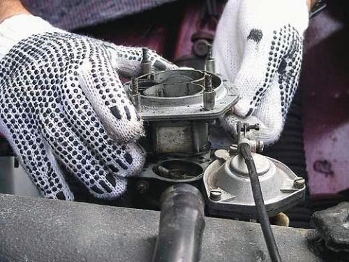 Регулировка карбюратора ВАЗ 2107 своими руками