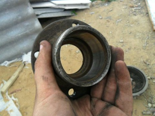 Как заменить задний ступичный подшипник и тормозной барабан ВАЗ 2114