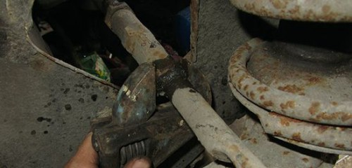 Самостоятельная замена рулевых наконечников на ВАЗ 2110