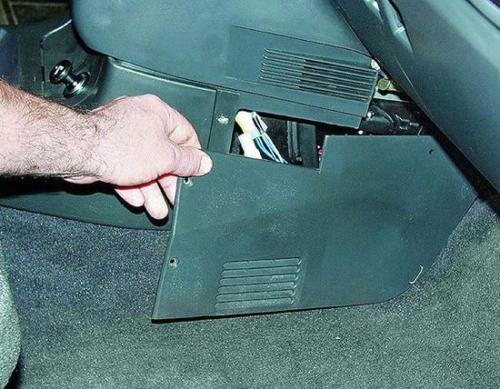 Установка нового топливного фильтра ВАЗ 2110