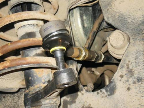 Алгоритм замены наконечника рулевой тяги ВАЗ 2114